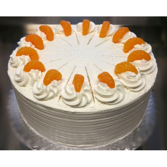 Lemon Mandarin Cream Torte