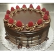 Chocolate Raspberry Decadence Cake
