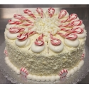 Red Velvet Candy Cane Cake