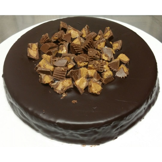 GF Chocolate Reese's Peanut Butter Cup Tort