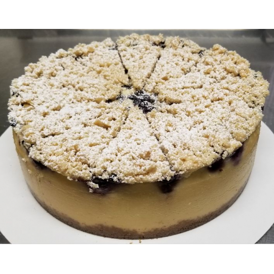 Blueberry Streusel Cheesecake